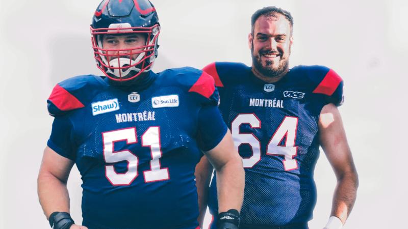 Kristian Matte et Sean Jamieson demeurent des Alouettes