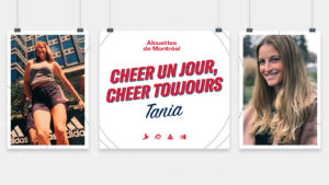 Cheer un jour, cheer toujours – Tania