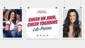 CHEER UN JOUR, CHEER TOUJOURS – Lili-Pierre