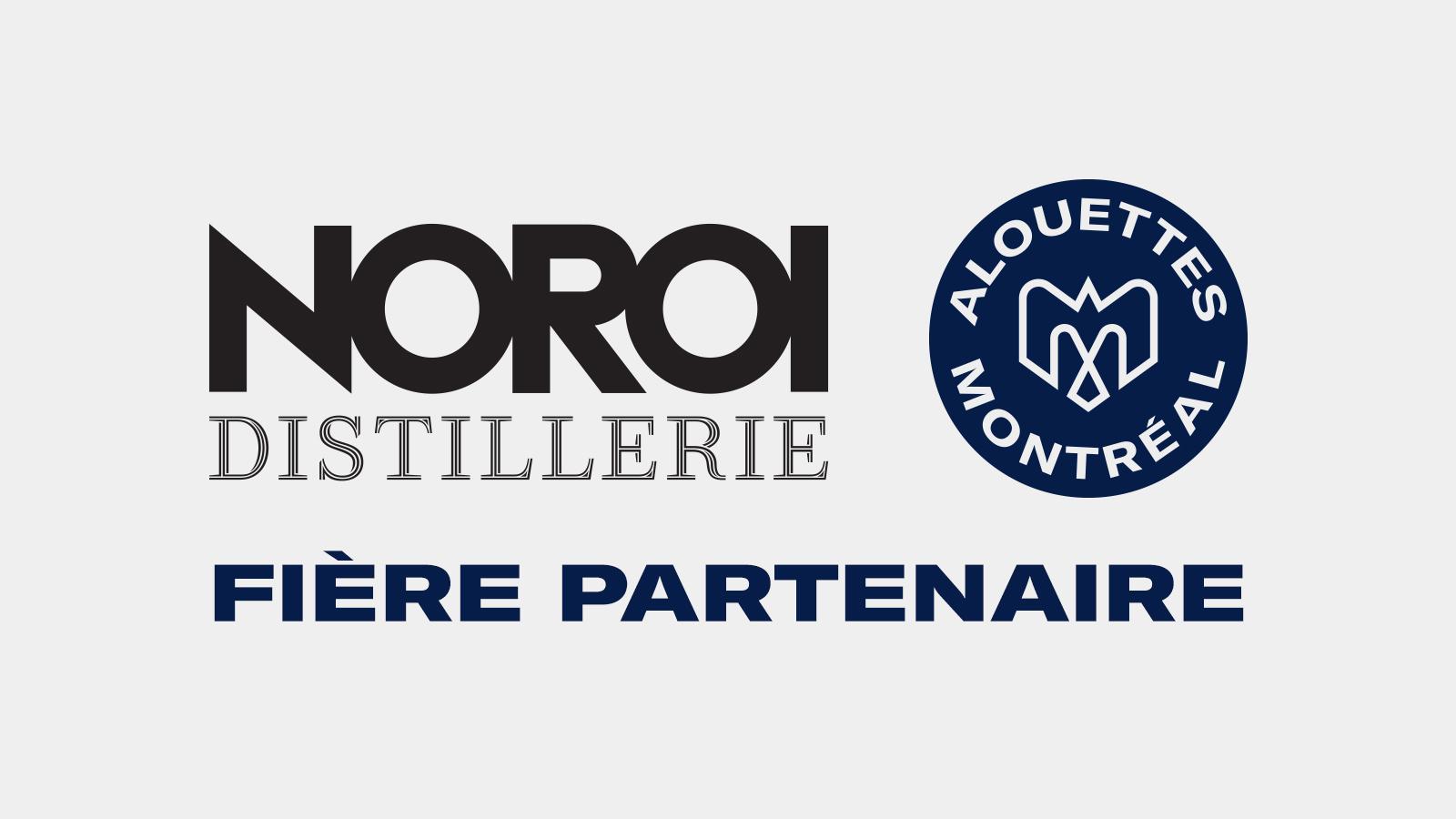 Les Alouettes et la distillerie NOROI deviennent partenaires
