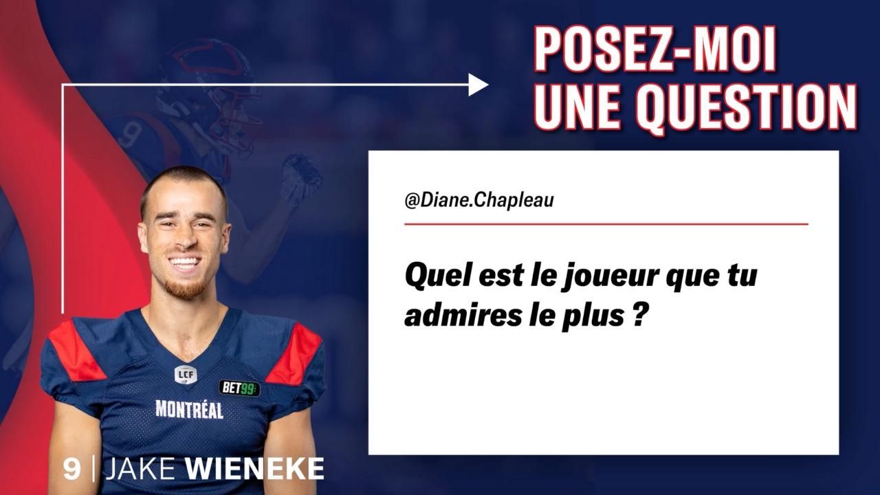 Wieneke répond à vos questions!