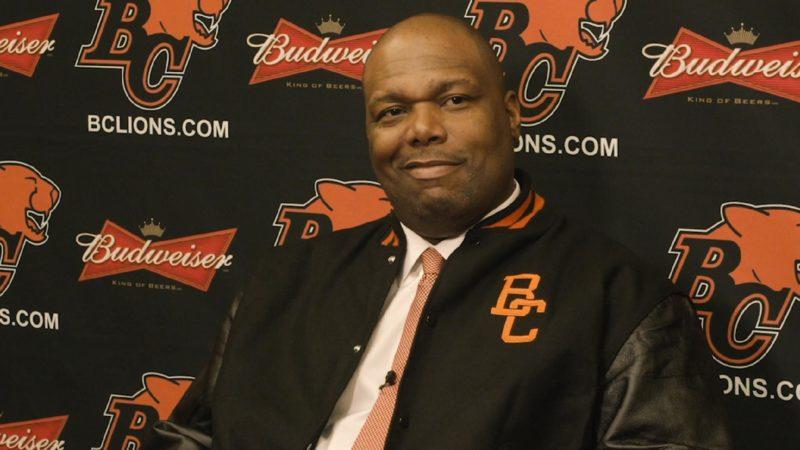 Les Lions présentent leur nouvel entraîneur-chef, DeVone Claybrooks