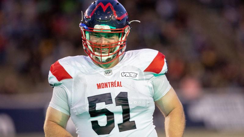 Les Alouettes de Montréal, Dominick Gravel