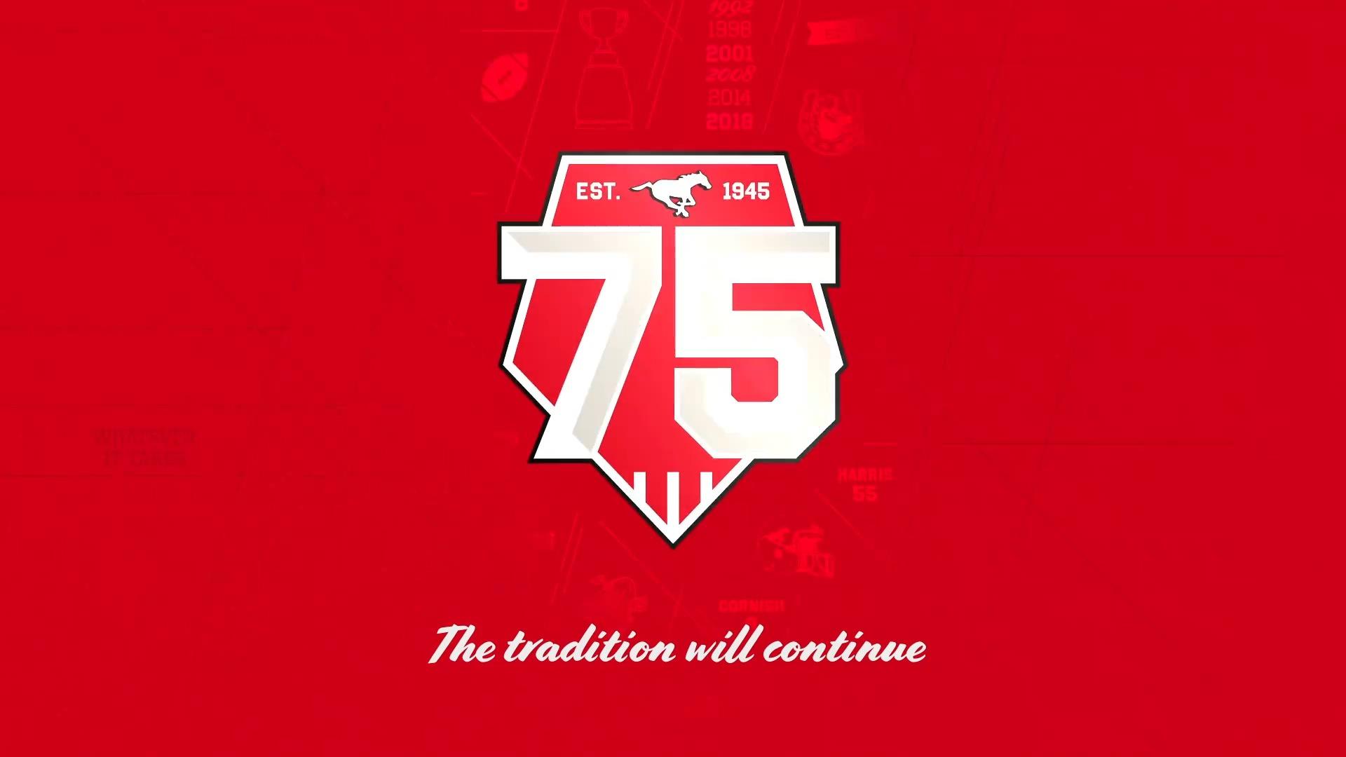 Uniforme 75e anniversaire des Stamps – La tradition se poursuit!