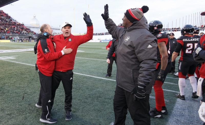 Hamilton Tigercats vs Ottawa REDBLACKS EASTERN FINAL  November 18, 2018  PHOTO: Andre Ringuette/Freestyle Photography