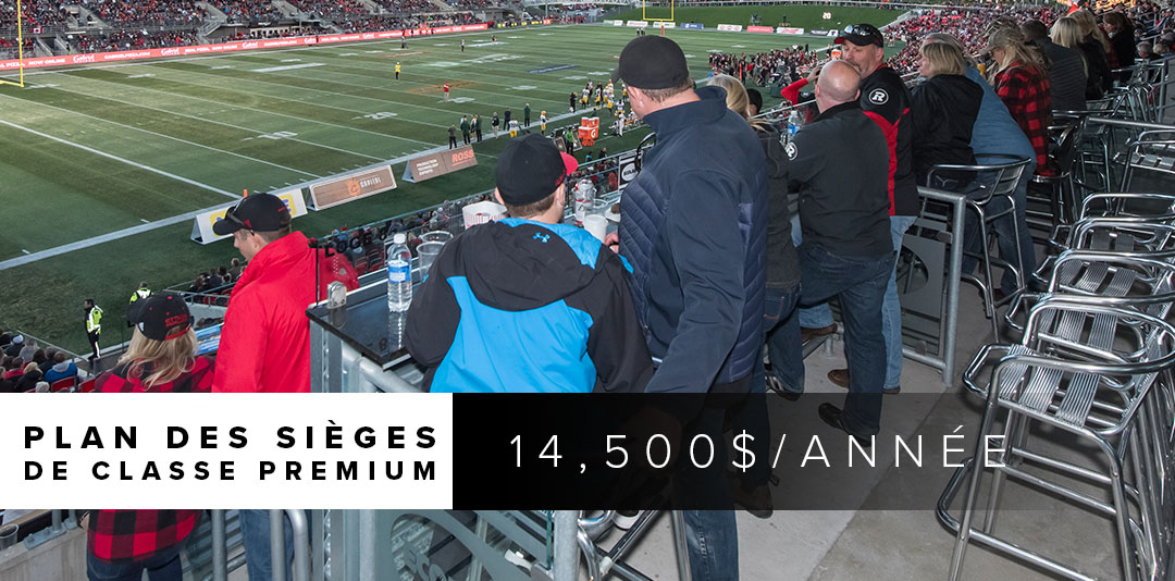 Photo from the Ottos Club loges during a REDBLACKS game