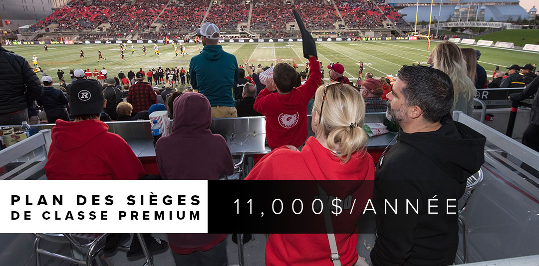 Photo from the South Loges during a REDBLACKS game
