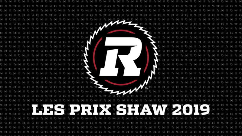 Les prix Shaw 2019 de la LCF