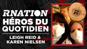 Héros du quotidien de la RNation: Leigh Reid et Karen Nielson