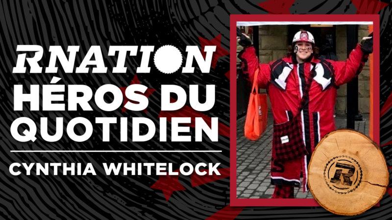 Héros du quotidien de la RNation: Cynthia Whitelock