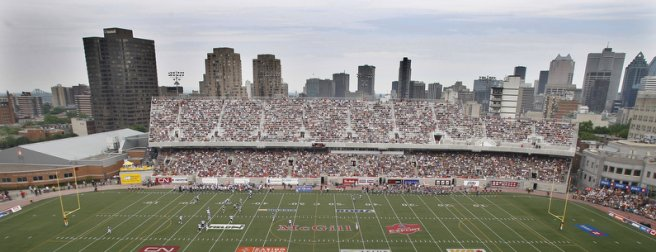 Mcgill Stadium South Side June 19 Montreal Alouettes