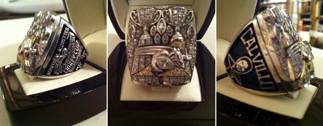 The Champs Receive Their Grey Cup Rings Montreal Alouettes