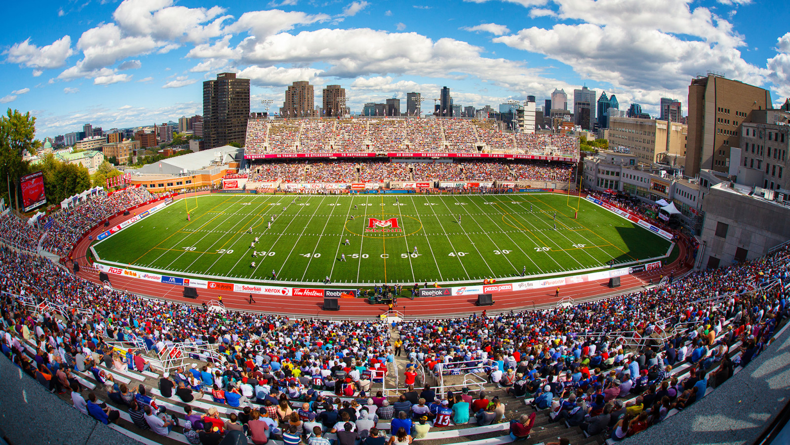 Update of the Alouettes App - Montreal Alouettes