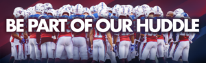 Be Part Of Our Huddle