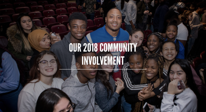 Our 2018 Community Involvement