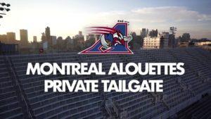Book your private tailgate!