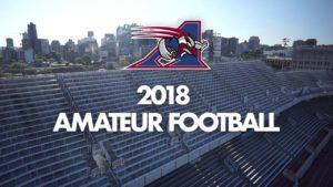 2018 Amateur Football Groups