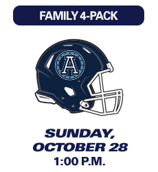 Montreal Alouettes Game, October 28 2018