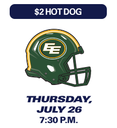 Montreal Alouettes Game, 26 July 2018
