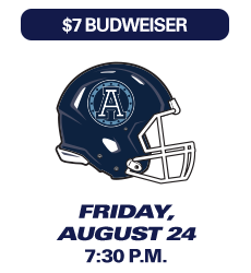 Montreal Alouettes Game, August 24 2018