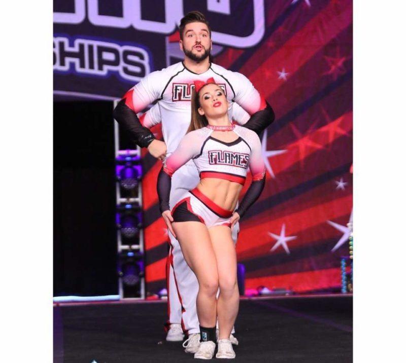Cheerleader Amateur college