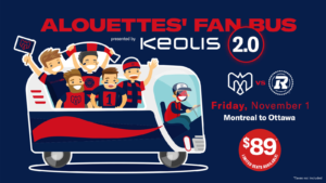 Alouettes Fan Bus