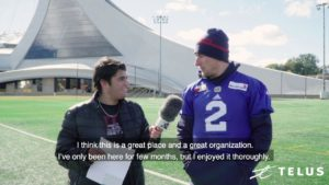 TELUS QUESTIONS FEAT. JOHNNY MANZIEL