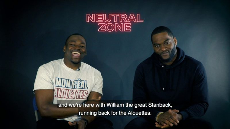 """Neutral Zone - The meaning of """"Game of inches"""" according to Will Stanback"""