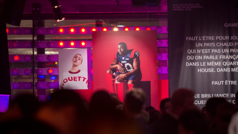 The Alouettes intend to take root in Montreal's major business areas