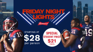 Budweiser Friday Night Lights Pack