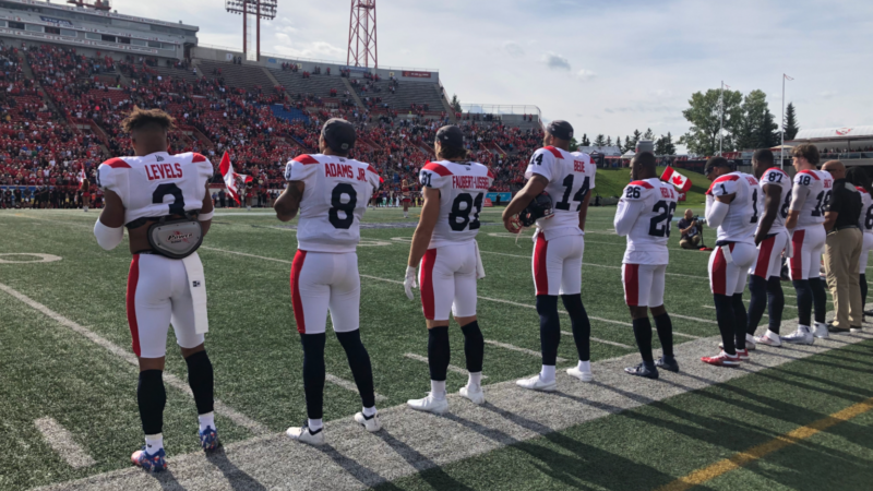 The best pictures of our game against the Stampeders