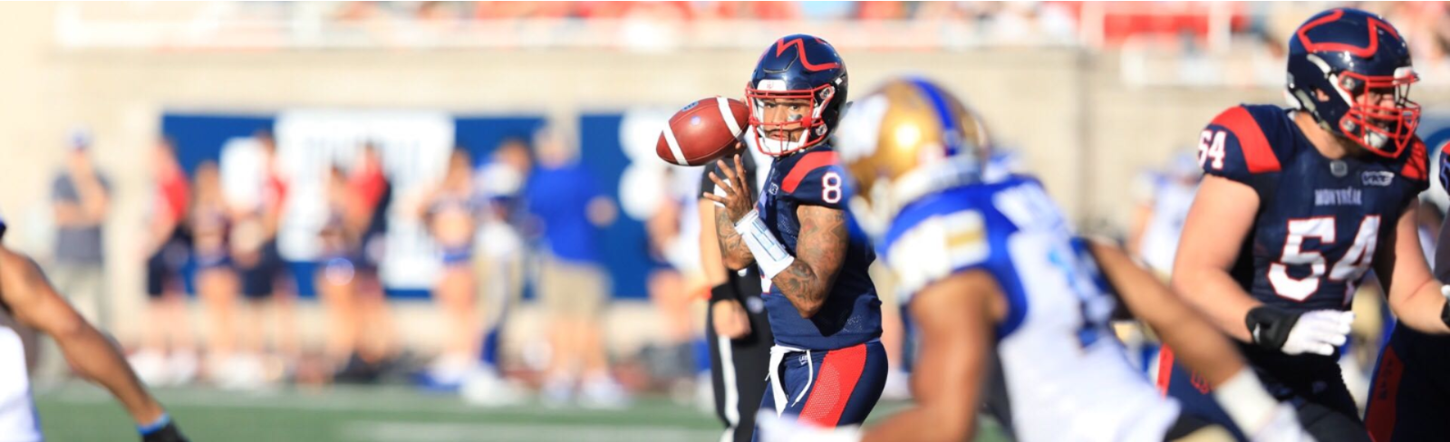 Vernon Adams Jr throws for 488 yards and propels our Als to a fashionable win against the Bombers - Montreal Alouettes