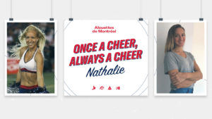 Once A Cheer, Always A Cheer – Nathalie