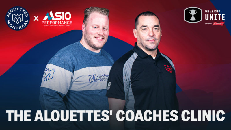 Alouettes' coaches clinic