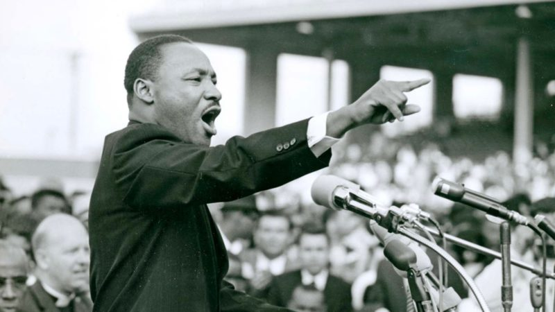 It's Martin Luther King day!
