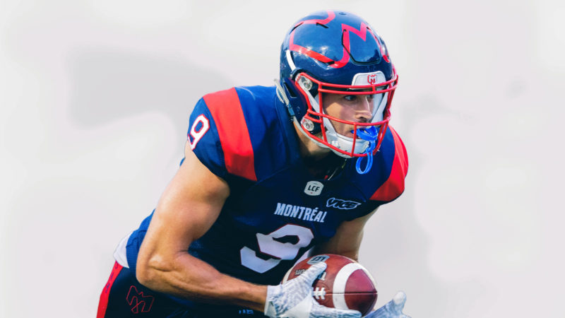 Jake Wieneke returns to the Alouettes in 2021