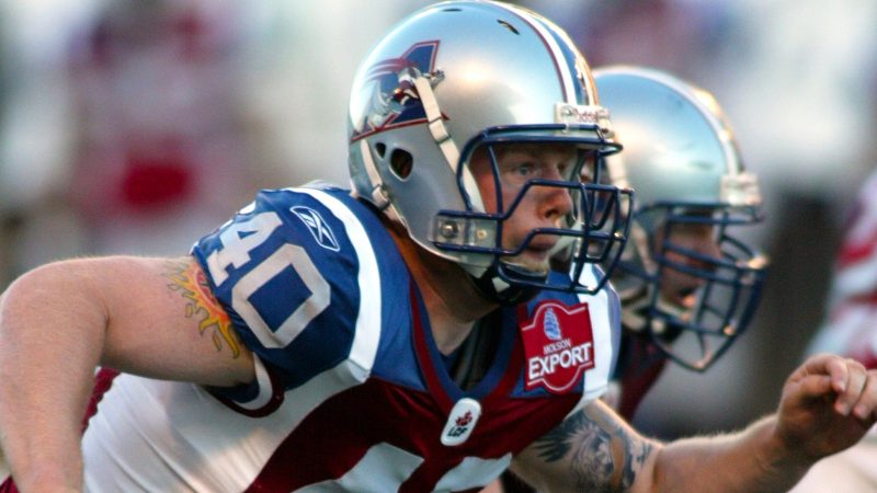Brad Collinson, the former Alouette at the head of the Stingers…
