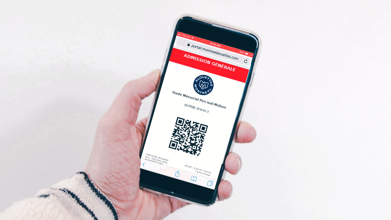 How to use my mobile tickets ?
