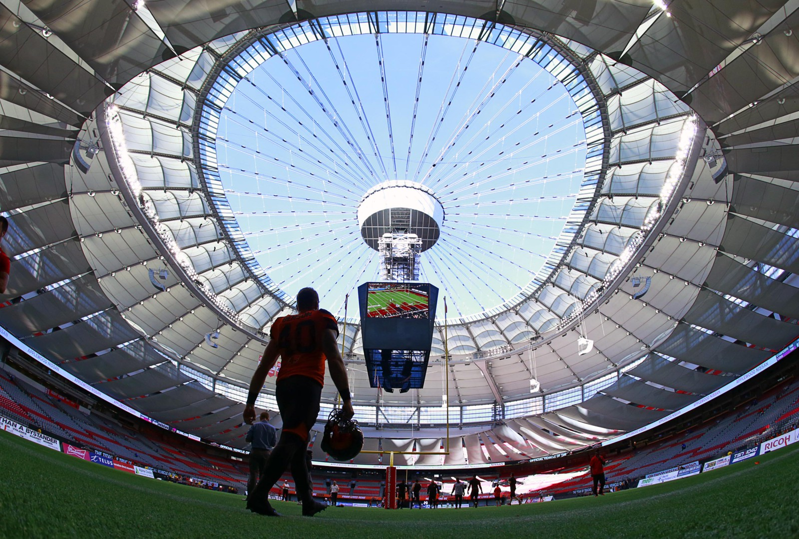 Welcome To Bc Place Bc Lions