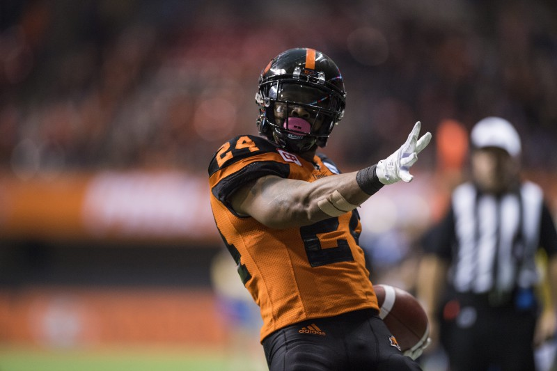 With three superb choices, we ask: who is the best player to wear #24 for the BC Lions? The options are Mervyn Fernandez, Korey Banks and Jeremiah Johnson.