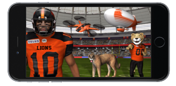 BC LIONS AUGMENTED REALITY