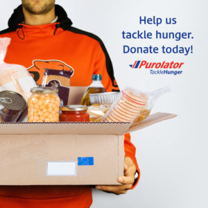 PUROLATOR TACKLE HUNGER