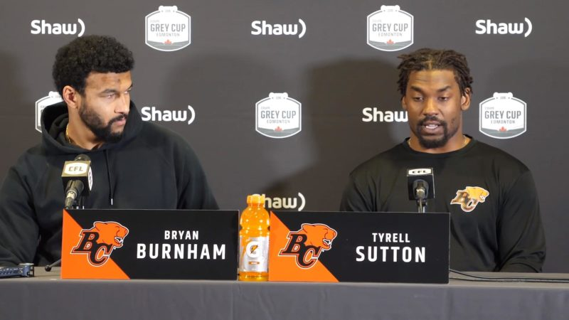 Pre-Game | Tyrell Sutton and Bryan Burnham