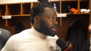 Post Game | Solomon Elimimian Nov 11