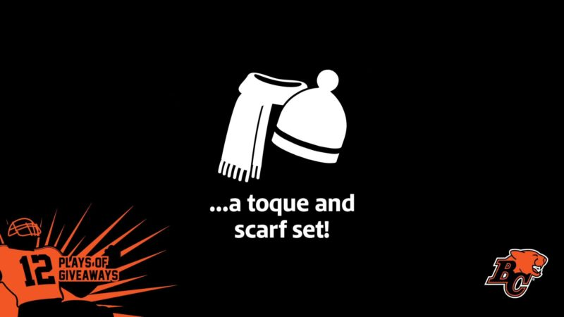 12 PLAYS OF GIVEAWAYS- DAY 9- 9 TOQUE AND SCARF SETS