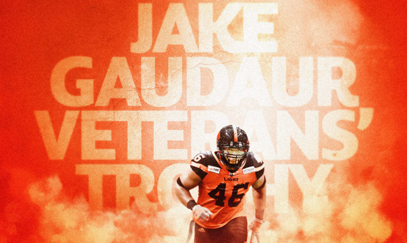 Lumbala Wins Jake Gaudaur Veterans' Award!