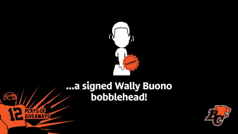 12 PLAYS OF GIVEAWAYS- DAY 7 – 7 SIGNED WALLY BUONO BOBBLEHEADS