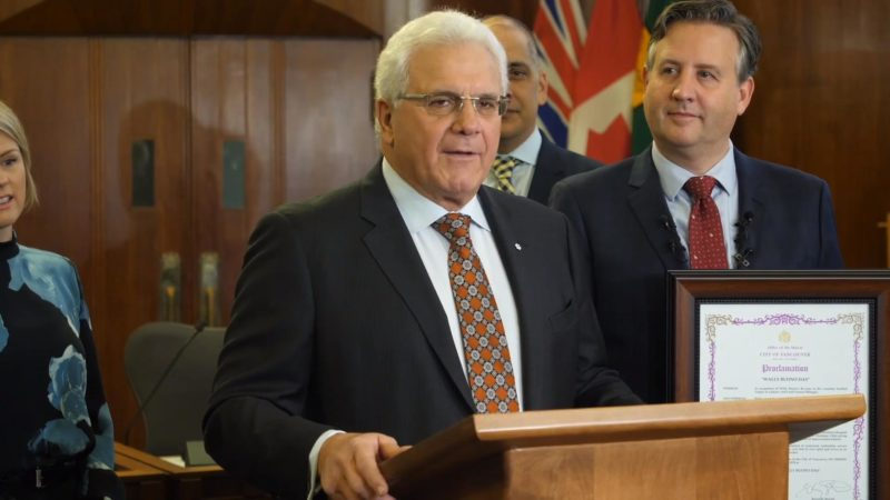 Wally Buono Proclamation | December 4