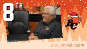 BC LIONS ADVENT CALENDAR: DAY 8