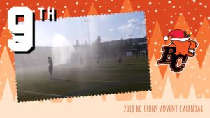 BC LIONS ADVENT CALENDAR: DAY 9